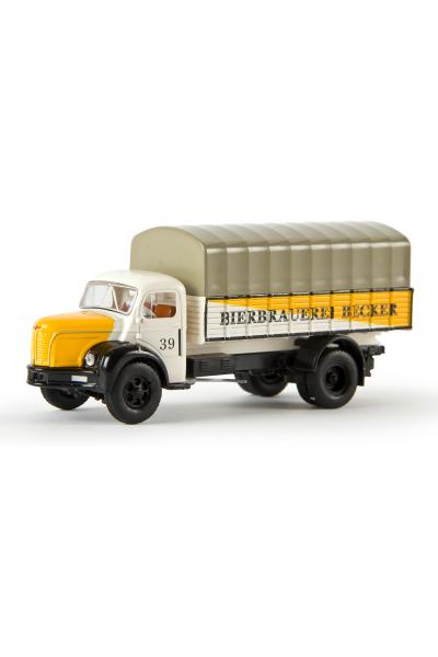 Brekina 85314 Автомобиль Berliet GLR 8 PP Bierbrauerei Becker 1/87