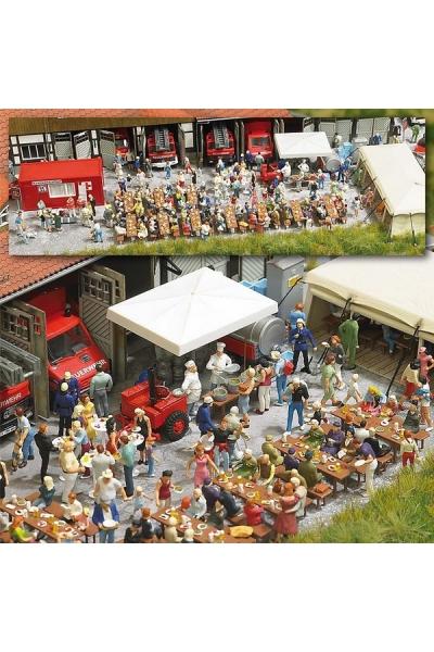 Busch 1078 Фестиваль у пожарных 1/87