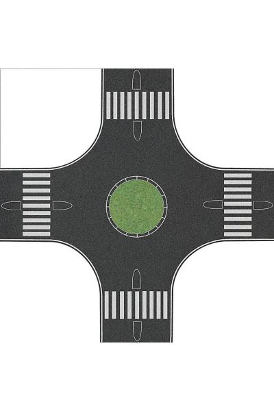 Busch 1101 Автомобильная дорога с круговым движением 80мм 1/87
