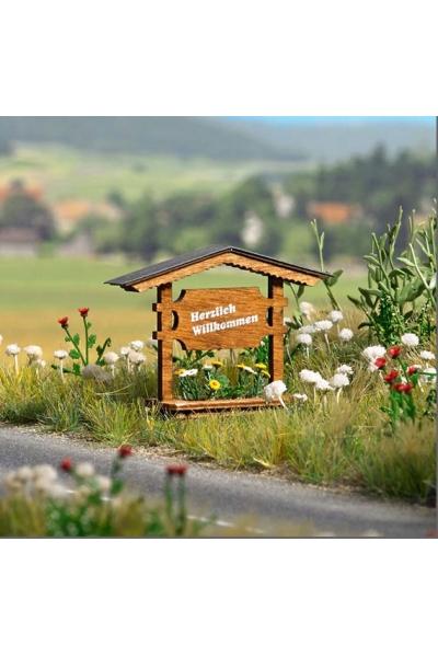 Busch 1144 Набор декора для парка 1/87