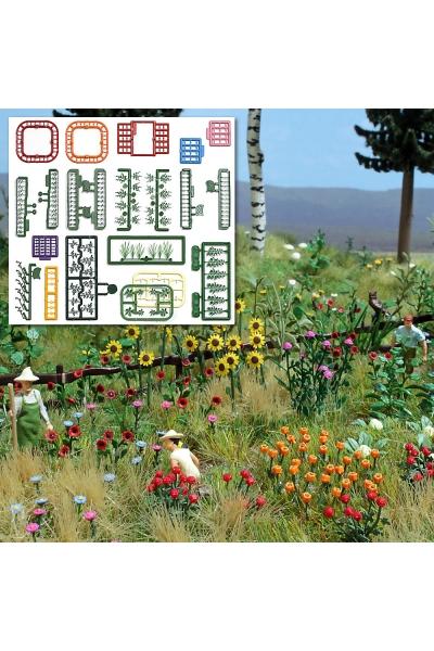Busch 1258 Набор цветов и растений 1/87