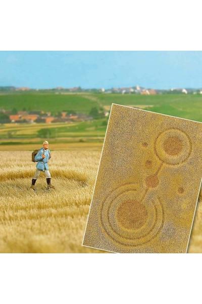 Busch 1311 Поле пшеницы с кругами НЛО 1/87