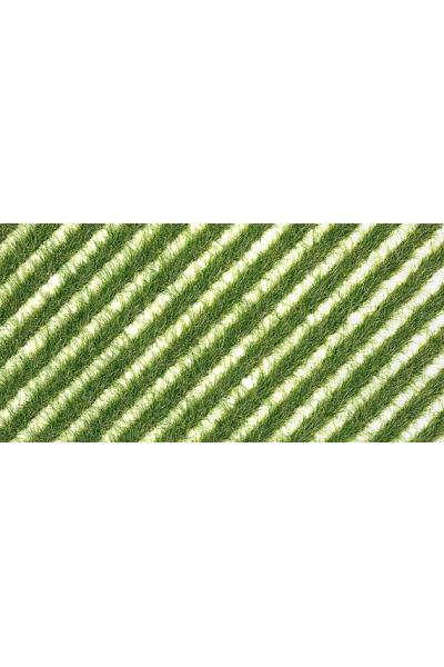 Busch 1342 Полосы весенний травы 148x105мм H0/TT/N