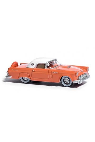 Busch 201107267 Ford Thunderbird 1956 цвет розовый Epoche III 1/87