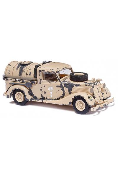 Busch 41562 Автомобиль MB 170V Tankwagen Luftwaffe Afrika Corps Epoche II 1/87