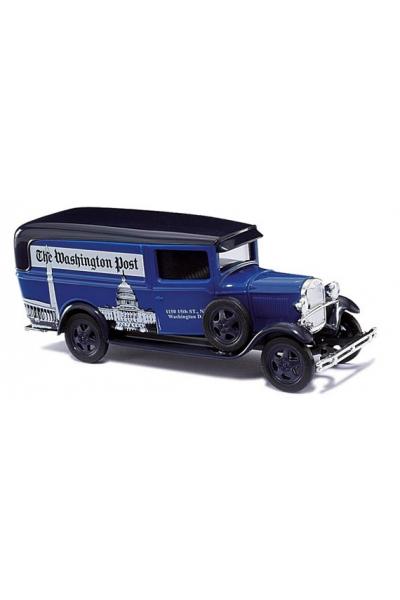Busch 47726 Автомобиль Ford Model AA Washington Post Epoche II 1/87