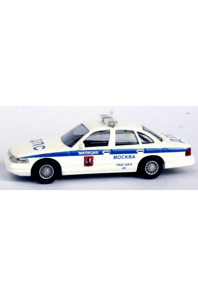 Busch 49049  Ford Crown Victoria ДПС УВД ЦАО 49 Эпоха V 1/87