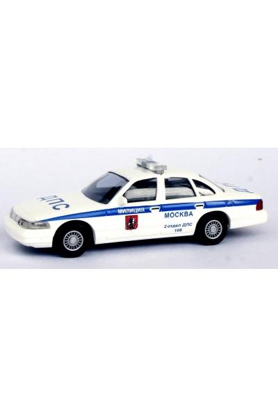 Busch 49106  Ford Crown Victoria ДПС 2 ОТДЕЛ 106 Эпоха V 1/87
