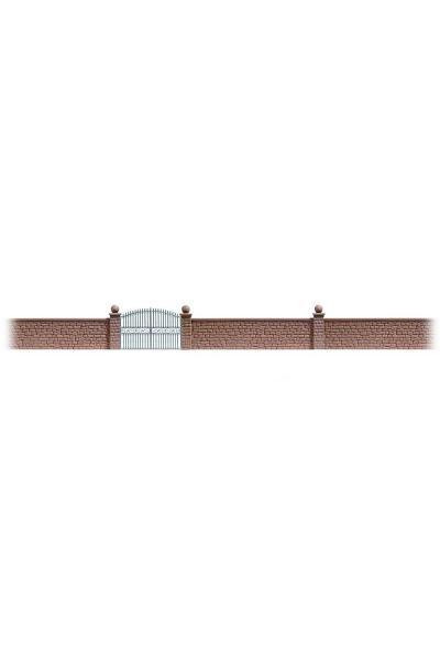 Busch 6014 Забор с воротами 80см 1/87