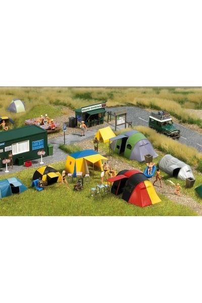 Busch 6044 Палаточный лагерь 1/87