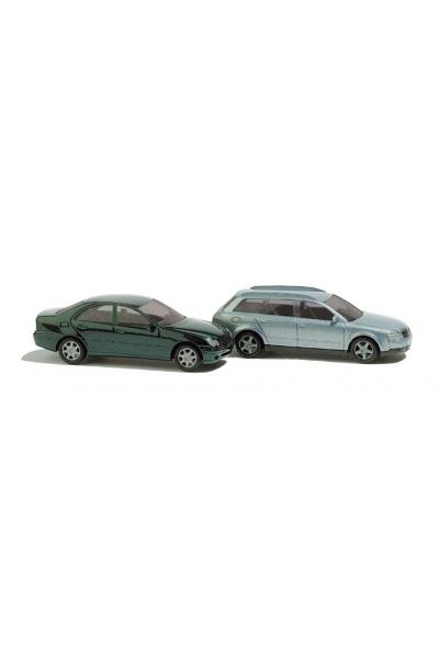 Busch 8346 Автомобиль Audi/Mercedes 1/160