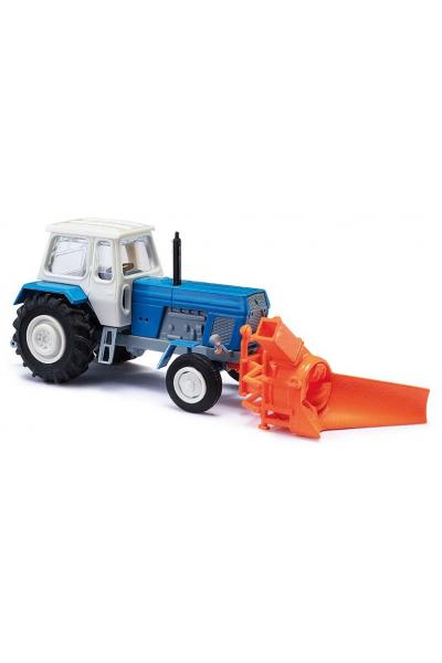 Busch 8697 Автомобиль Traktor mit Schneefrase 1/120