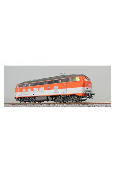 ESU 31014 Тепловоз 218 137 Citybahn DB Epoche IV 1/87