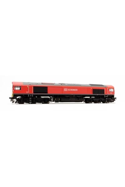 ESU 31074 Тепловоз Class 66 DB SCHENKER 66001 Epoche VI 1/87