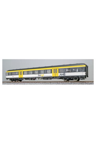 ESU 36512 Вагон пассажирский AB nrz 418.4 31-34 074-0 DB AG Epoche VI 1/87