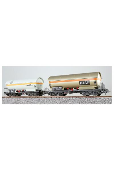 ESU 36523 Набор вагонов ZAG 620 EVA+BASF DB Epoche IV 1/87