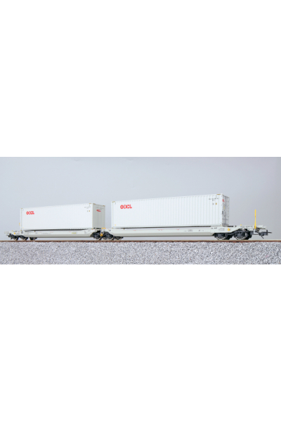 ESU 36543 Набор вагонов Sdggmrs, 37 84 499 3 203-7 NL-AAEC Epoche VI 1/87