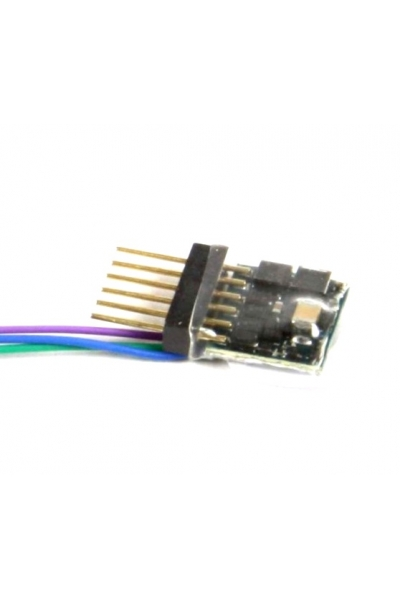 ESU 53665 Декодер DCC LokPilot Standart Nano 6-pin NEM 651