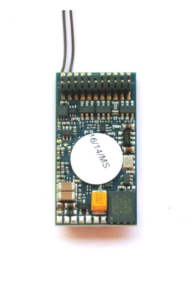 ESU 56497 Декодер звуковой LokSound V4.0 DCC PluX 22
