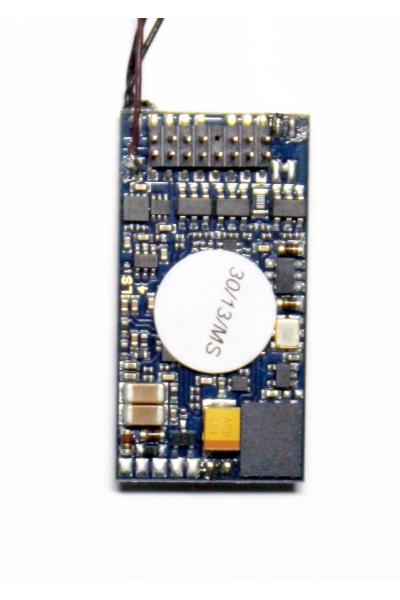ESU 54498 Декодер звуковой LokSound V4.0 DCC PluX16