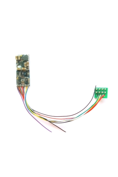 ESU 56899 Декодер звуковой LokSound micro V4.0 DCC 8-pin NEM 652