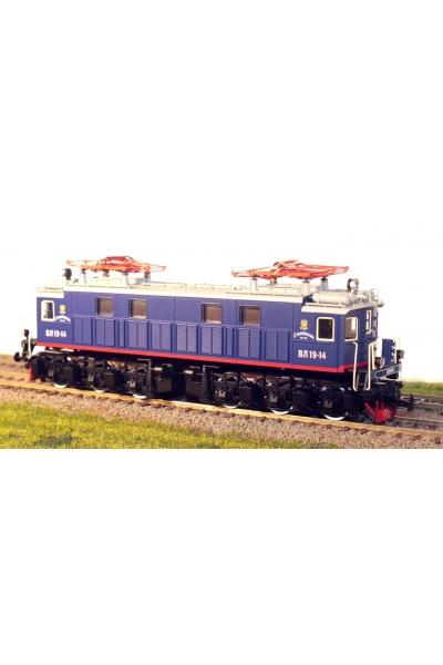 Eurotrain 3011 Электровоз ВЛ 19 14 Ст. ЖД эпоха II-III 1/87