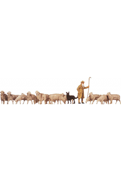 Faller 154001 Пастух собака овци 1/87