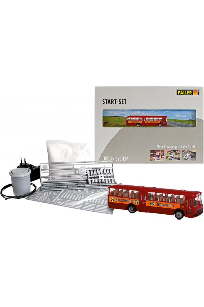 Faller 161498 Стартовый набор Car System MB O317k 1/87