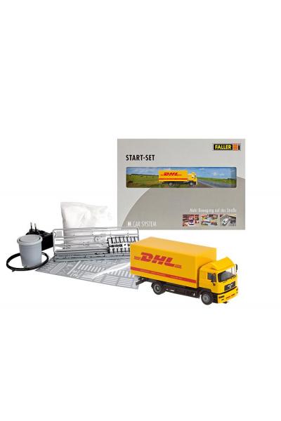 Faller 161607 Стартовый набор Car System MAN DHL 1/87