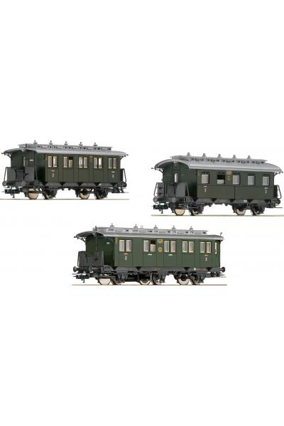 Fleischmann 481804 Набор пассажирских вагонов DRG Epoche II 1/87 VN