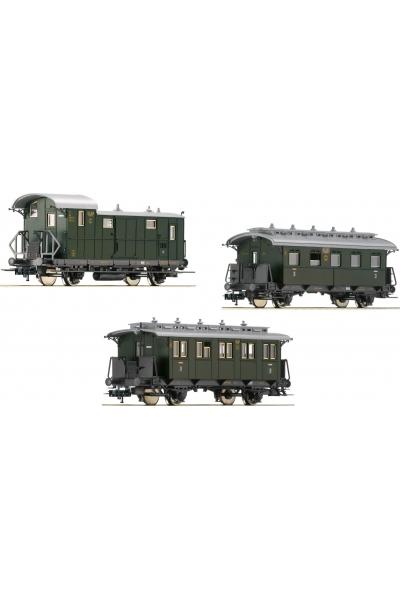 Fleischmann 481805 Набор пассажирских вагонов DRG Epoche II 1/87 VN