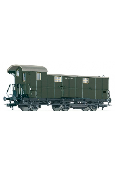 Fleischmann 506703 Вагон багажный Pw3ipr97 NS Epoche III 1/87