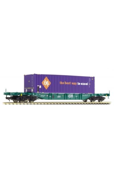 Fleischmann 524109 Вагон платформа Sgns SNCB Epoche V 1/87
