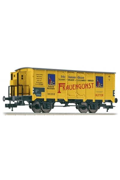 Fleischmann 534805 Вагон крытый Homann-Frauengunst DRG Epoche II 1/87 VN
