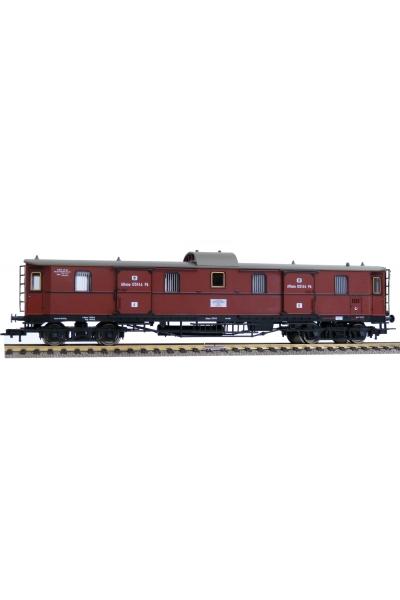 Fleischmann 568004 Вагон багажный Pw 4upr04 K.P.E.V. Epoche I 1/87 VN