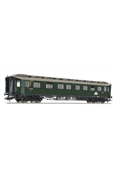 Fleischmann 568203 Вагон пассажирский Klasse Bauart BC 4u 2./3. DB Epoche III 1/87