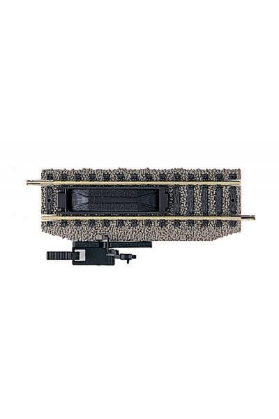 Fleischmann   6114  Рельс прямой 100 мм с ручным расцепителем