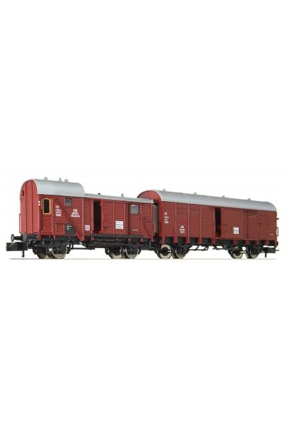 Fleischmann 830301 Нобор вагон Gllh 12+Gllvwhh08 DB Epoche III 1/160 RO