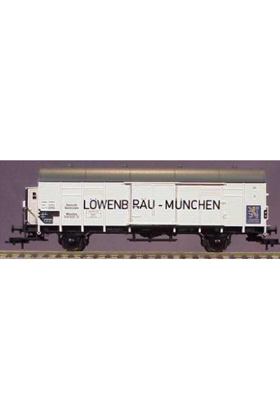Fleischmann 835307 Вагон холодильник Lowenbrau Munchen DRG Epoche II 1/87