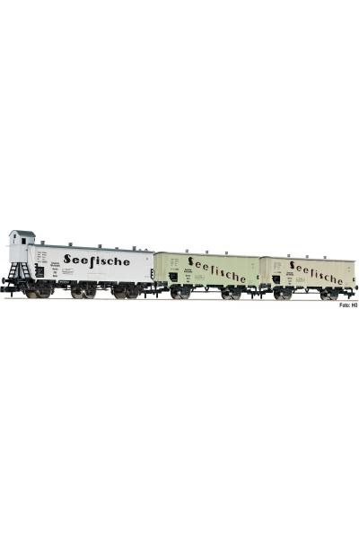 Fleischmann 881810 Набор вагонов Seefische DRG Epoche II 1/160