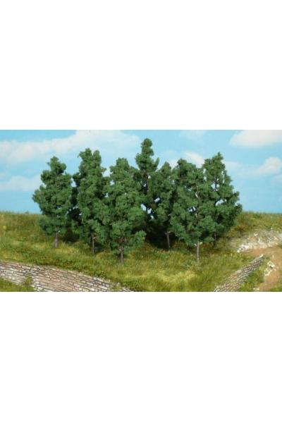 Heki 1220 Набор из 10 деревьев 9см