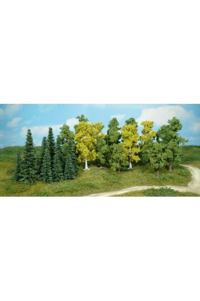 Heki 1230 Набор из 26 деревьев 5-11см