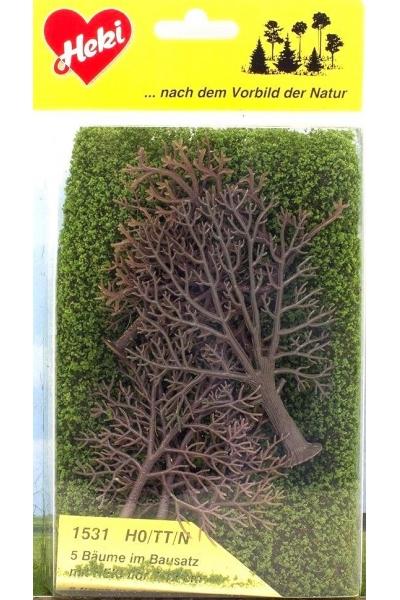 Heki 1531 Набор для изготовления деревьев 5шт 7-12см