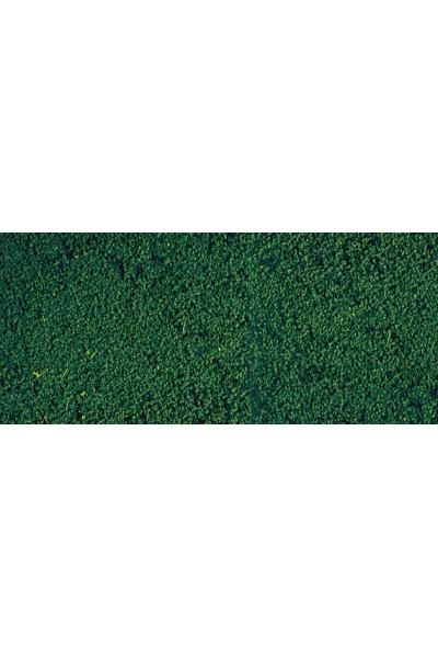 Heki 1603 Листва коврик 28Х14см тёмно зелёный