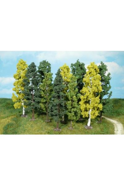 Heki 1762 Набор из 10 деревьев 14-18см