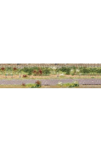 Heki 1805 Набор трава кочки 100шт 5-6мм бордовый белый
