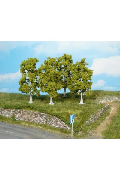 Heki 1921 Набор деревьев 4шт 10см
