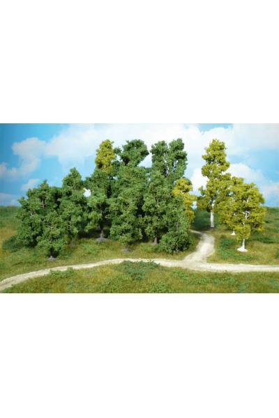 Heki 1952 Набор деревьев 14шт 9-18см