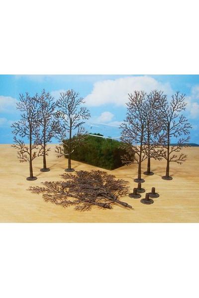Heki 1971 Набор из 10 деревьев 18см для самостоятельной сборки