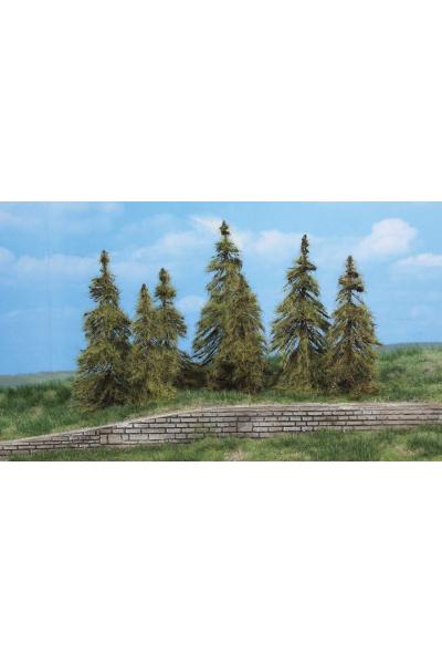 Heki 2174 Набор деревьев 7шт 7-11см
